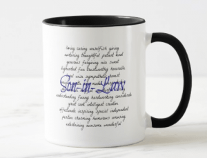 The Official Son-in-Law Mug